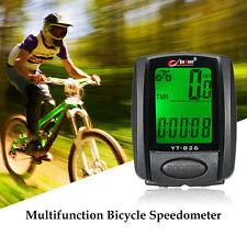 BOGEER YT-826 Bicycle Cycling Speedometer Odometer LCD Backlight Bike Computer