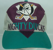 Mighty Ducks Green Purple Gray Snapback Hat NHL Officially Licensed Hockey Twins
