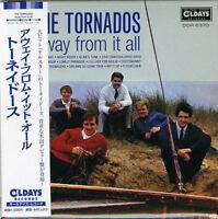 TORNADOS-AWAY FROM IT ALL-JAPAN MINI LP CD BONUS TRACK C94