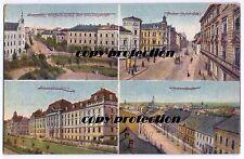 alte Ak 1924 Troppau Opava, Finanzdirektion, Jukterstraße, Wilhelmsplatz ...