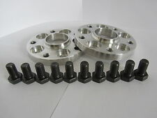 15mm PCD Adaptors Audi VW 5x100 to fit Porsche 5x130 wheels with bolts