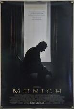 Munich Ds Rolled Orig 1Sh Movie Poster Steven Spielberg Eric Bana (2005)