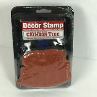University Alabama Bama Decor Rubber Stamp Color Box Scrapbooking Big AL A29-22