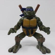 2004 TMNT Teenage Mutant Ninja Turtles Flipping Donetello Action Figure Works