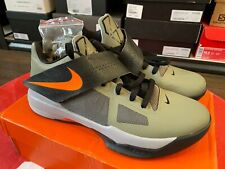 NIKE ZOOM KEVIN DURANT KD IV 4 UNDEFEATED ROGUE GREEN / ORANGE / BLACK