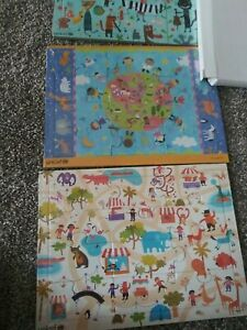 UNICEF Tray Puzzles NEW  Set of 3