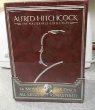 Alfred Hitchcock - The Masterpiece Collection (DVD 2005, Box Set) RARE BRAND NEW