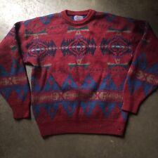 Men's Vintage Pendleton High Grade Western Wear Tribal Aztec Crewneck Sweater L