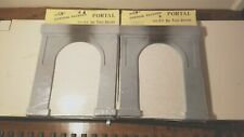 BUILDINGS UNLIMITED O SCALE CONCRETE ONE TRACK TUNNEL PORTAL 1948 #83
