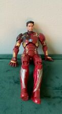 "Marvel Legends Civil War Battle Damage Iron Man 6"" Inch Action Figure"