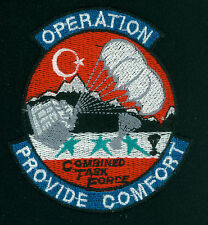 OPERATION PROVIDE COMFORT, COMBINED TASK FORCE, PATCH, FULL COLOR, ORIGINAL