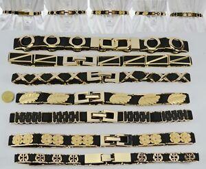 AU Super Elastic Skinny Golden Multi Theme Girl Woman Stretch Waist Belt LT6