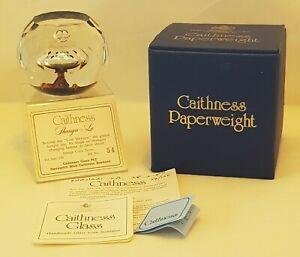Caithness Ltd Ed. Paperweight - Shangri-La - 1987 - Terris - Box & Cert - 54/150