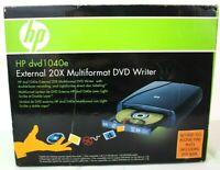 HP DVD1040e External 20X Multiformat DVD Writer 844149031668  - New in Box