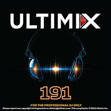 Ultimix 191 CD Ultimix Records Pitbull One Direction Depeche Mode Akon Zedd