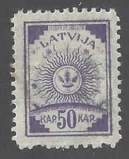 Latvia 1919 SC 23 Sun Design