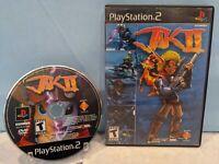 Jak II (Sony PlayStation 2, 2003) Tested & Working
