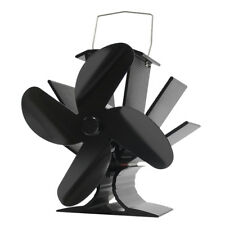 New 2018 4 Blade Stove Fan Heat Powered Stove Stove Top Fan for Wood Log Burners