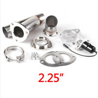 2.25in 57mm Universal Ypipe Car Modification Exhaust CutOut Kit W/Remote Control