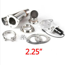 """2.25"""" 57mm Electric Exhaust Cutout Cut Out Dump Valve/Switch with Remote Control"""