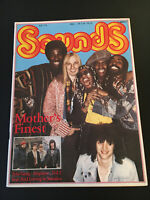 Sounds 7/78 MOTHERS FINEST Springsteen GENESIS Marley Tosh AIRPLANE Lake XTC Udo