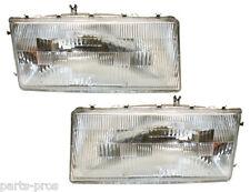 New Replacement Headlight PAIR / FOR 1989-95 SPIRIT & LEBARON 4-DOOR SEDAN