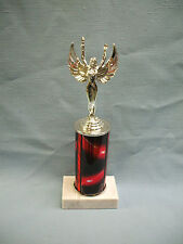 silver VICTORY trophy award red column FREE lettering