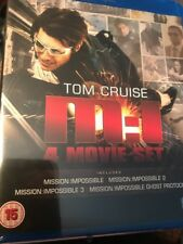 Mission Impossible Tom Cruise 4 Movie Set (Blu Ray Region Free) NEW