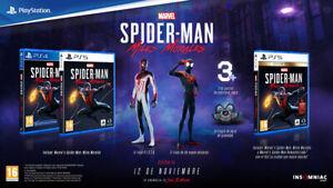 PS4 Spider-Man Miles Morales DLC RESERVA TRAJES, EXTRAS SPIDERMAN PLAYSTATION 4