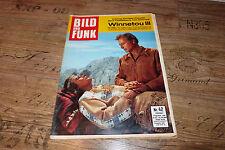 Bild und Funk Nr.42/1965 TB Winnetou u Old Shatterhand,Bildergeschichte Winnetou