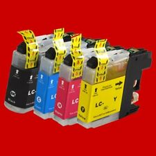 50x Drucker Patronen + V3.0 Chip für Brother LC121 LC123 LC125 LC127 BK C M Y