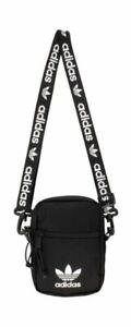 adidas Originals Festival Crossbody Bag - Black/White Unisex