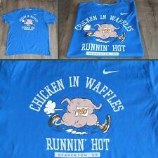 Nike T-shirt blu chiaro Uomo Sportswear Men casualwear Chicken in Waffles TG.XL