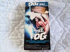 THE FOG VHS EMBASSY JOHN CARPENTER HORROR JAMIE LEE CURTIS ADRIENNE BARBEAU