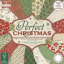 "Sample craft paper 200gsm ""  Perfect Christmas "" scrapbooking Dovercraft"