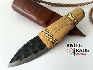 Condor Otzi Knife + Leather Sheath CTK3922-2.2 Hunting Bushcraft Camping EDC