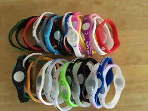 30 Pıeces MEDIUM Power Balance Energy Health Band Bracelet- Wrist  MEDIUM