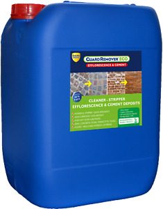 Guard Industry Remover Eco Efflorescence & Cement Stripping Cleaning Liquid 20L