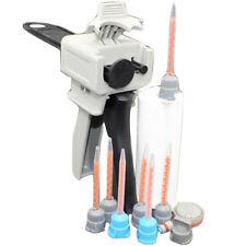 50ml 10:1 Dispensing Gun + Resin Cartridge Mixer Tubes + 7pcs Mixer Tip Nozzle