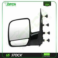 Left Side View Manual Mirror LH for 02-08 Ford E150 E250 E350 E450 E550 Van New