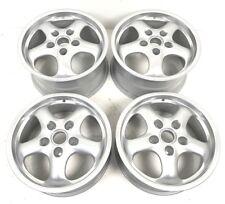 """Set Of Genuine Refurbished Porsche 17"""" Cup 2 Alloy Wheels 7J ET55 9J ET70 993"""