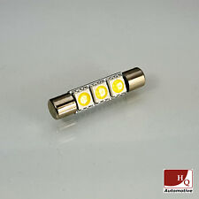 C3W Car LED Bulb 3x SMD-5050 Flat Slim 31mm WHITE