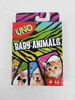 Uno Baby Animals edition Mattel card game