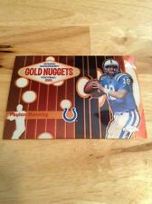 Peyton Manning Colts 2005 Topps Chrome Golden Anniversary Golden Nuggets #GN8