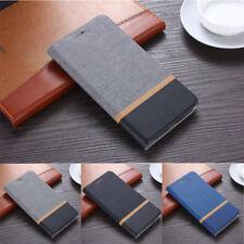 For Samsung J4 J6 J8 2018 Leather Flip Card Holder Slot Wallet Slim Case Cover