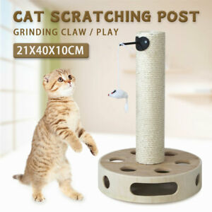 50CM Pet Cat Tree Scratching Post Scratcher Pole Gym Toy House Furniture AU