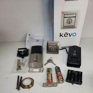KWIKSET KEVO 2nd Gen. Touch-to-Open Smart Lock (99250-203)- USED