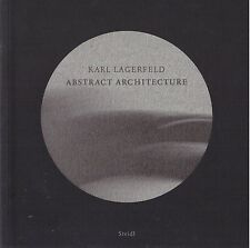 KARL LAGERFELD ABSTRACT ARCHITECTURE PHOTOGRAPHIE STEIDL + PARIS POSTER GUIDE