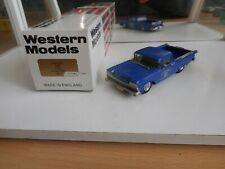 "Western Models 1959 Ford Ranchero ""MCC"" in Blue on 1:43 in Box"
