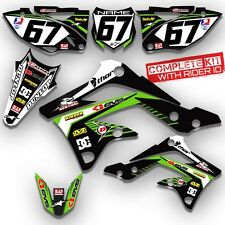 2002-2009 KLX 110 GRAPHICS KIT KAWASAKI KLX110 DECO MOTOCROSS DIRT BIKE DECALS